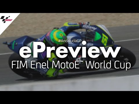 The ePreview of the FIM Enel #MotoE World Cup?? at the #AndaluciaGP