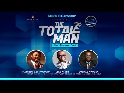 The Total Man Conference 2019 - Cosmas Maduka
