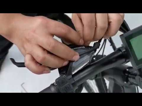 How to change brake wires
