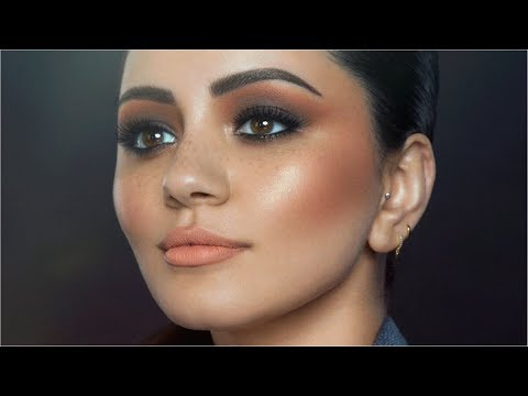 MY EDITORIAL MAKEUP TRANSFORMATION BY JORDAN LIBERTY w/ UD | AD