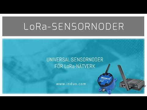 Sensornoder för LoRa