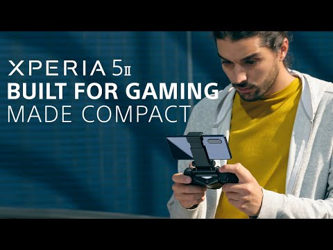 Xperia 5 II – Built for gaming, made compact