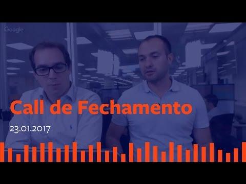 Call de Fechamento - 23 de Janeiro de 2017.