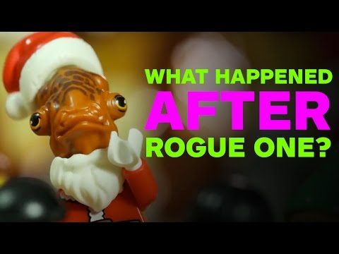 What Happened AFTER Rogue One Ended? - LEGO Star Wars Parody by Minifigery