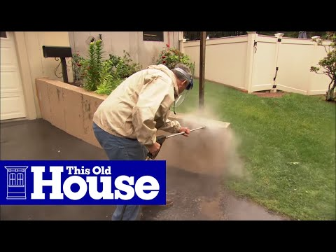 How to Cover a Concrete Wall with Stone Veneer | This Old House - UCUtWNBWbFL9We-cdXkiAuJA