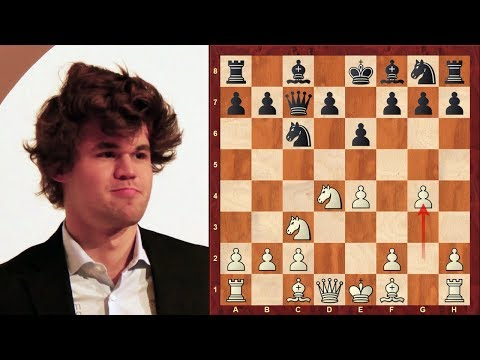 Amazing Chess Game: Magnus Carlsen vs Rustam Kasimdzhanov : World Rapid (2017) : Sicilian Defense