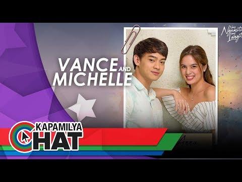 Kapamilya Chat with Vance Larena and Michelle Vito for Nang Ngumiti Ang Langit