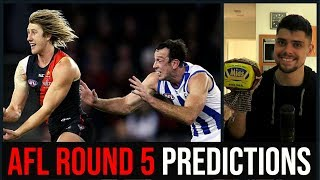 AFL Round 5 Predictions | 2019