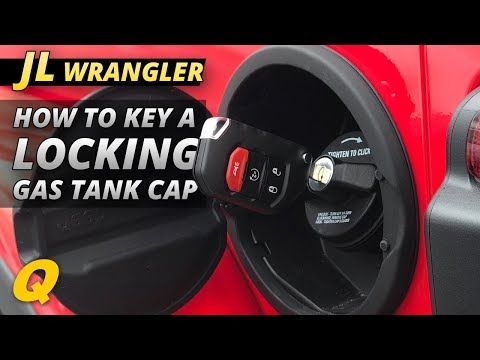 How to Key the Lock Cylinder for a Jeep Wrangler JL Mopar Locking Gas Cap