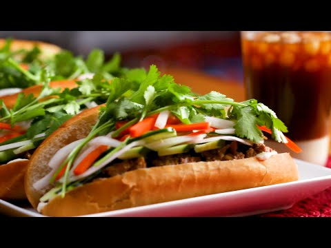 Grilled Lemongrass Pork Bánh Mì As Made By Su ? Tasty
