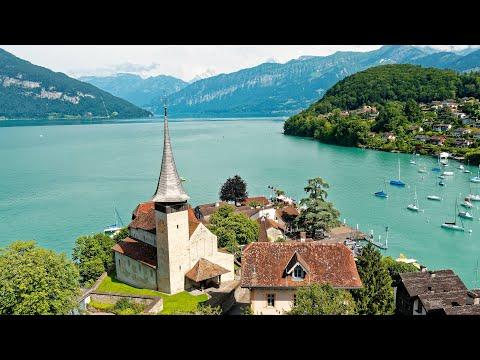 Interlaken, Switzerland in 4K