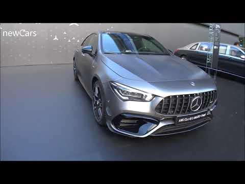 The 2020 Mercedes CLA 45S