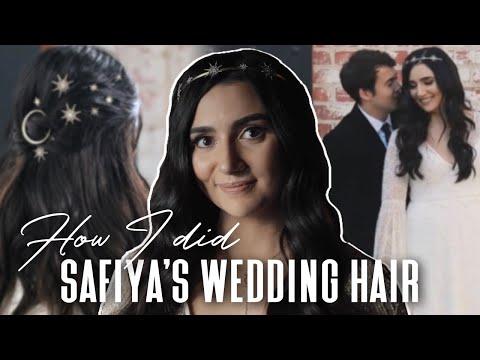 I Did SAFIYA NYGAARD's Wedding Hair - Kayley Melissa