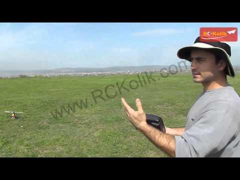 RC Heli Kumanda Ayar -9.3: GYRO GAIN Ayarı Saha Kontrollü