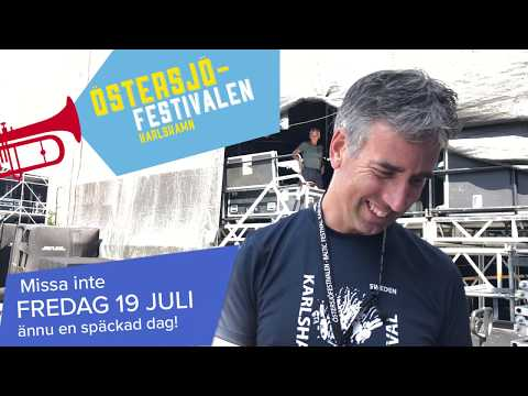 Dagens festivaltips - Fredag 19 juli Östersjöfestivalen 2019