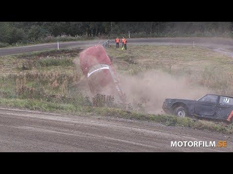 2018-09-08 Folkrace, Älgjakten, Sandvikenbanan, Kramfors, Rullning 1