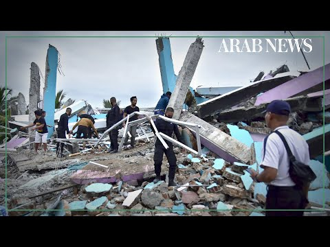 Dozens killed and search ongoing as quake rocks Indonesia