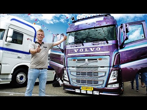 Volvo Trucks - 800 hours of styling makes this Volvo FH extraordinary ? ?Welcome to my cab ? light?