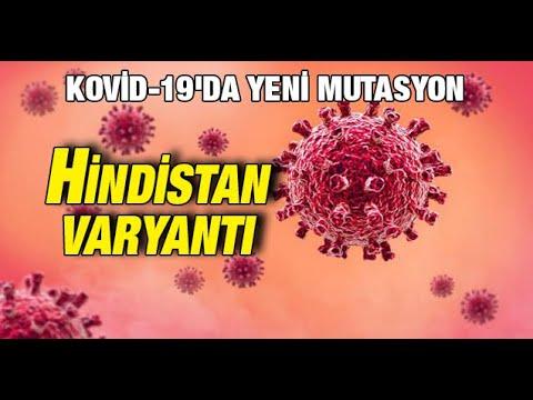 Kovid-19'da yeni mutasyon: Hindistan varyantı