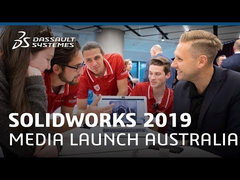 SOLIDWORKS 2019 Media Launch Australia - Dassault Systèmes