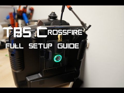 TBS Crossfire Full setup guide Taranis - correct antenna placement - UCkXQMsJpB7xwbArsZOEd9Vg
