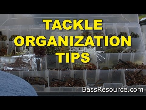 Tackle Organization Tips | How To Organize Tackle | Bass Fishing