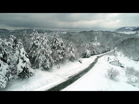 Zonguldak'ta ormanlarda seyrine doyumsuz manzara