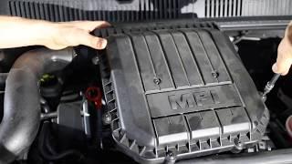 Sostituzione filtro aria motore Volkswagen Up