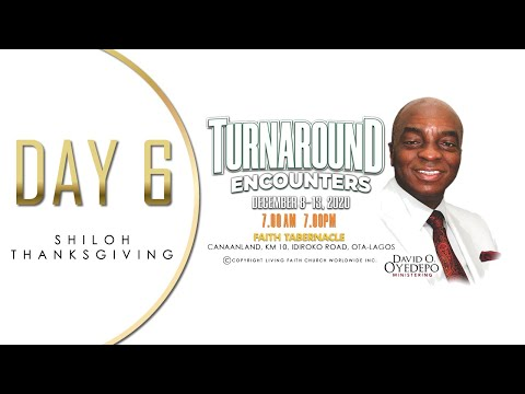 DOMI STREAM: SHILOH 2020  TURNAROUND ENCOUNTERS  THANKSGIVING SERVICE