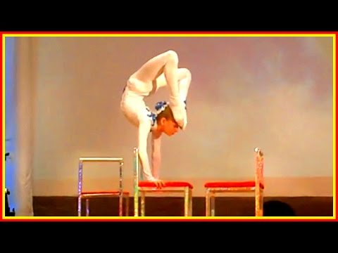 The Best Contortion Girls Of 2017, March (Contoriton Act In Octagon Cage etc)