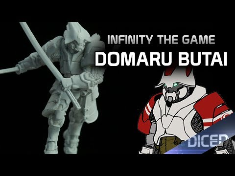 Tabletop Review: Domaru Butai | Infinity the game | DICED