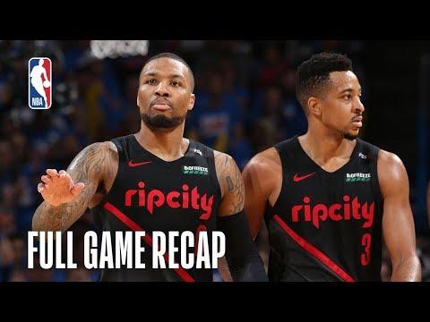 TRAIL BLAZERS vs THUNDER | Portland Looks to Take Pivotal Road Win | Game 4