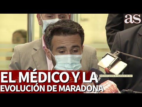 El médico de Maradona aclara la evolución del astro argentino | Diario AS