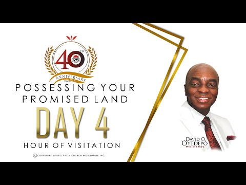 DOMI STREAM: DAY 4  40TH ANNIVERSARY  HOUR OF VISITATION  5, MAY 2021.