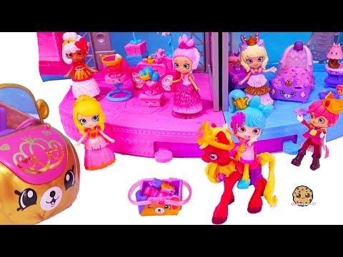 Royal Trends Prince + Princess Dress Up ! Shopkins Happy Places Car Video - UCelMeixAOTs2OQAAi9wU8-g