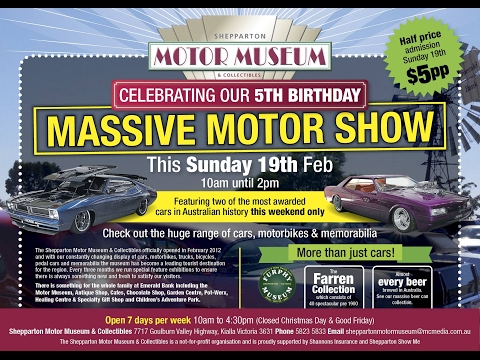 Shepparton Motor Museum Annual Motor Show 2017
