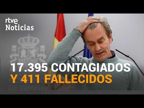 España registra 411 muertos, la cifra más alta de la segunda ola | RTVE Noticias