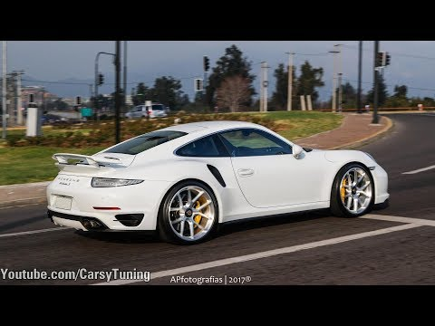 Porsche 991 Turbo S w/ Cargraphic Exhaust