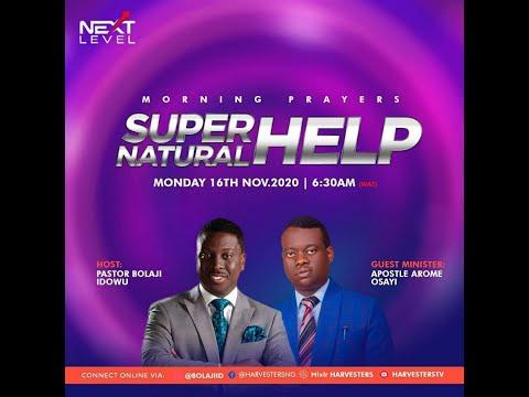 Next Level Prayer: Pst Bolaji Idowu and Apstl Arome  16th November 2020 #pstbolajiidowu #apstlarome