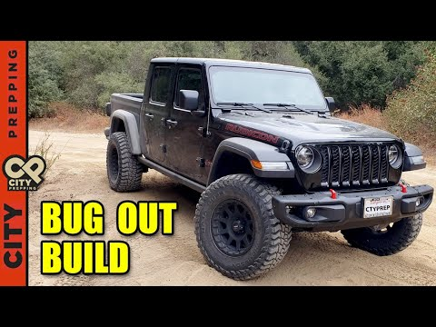 Bug Out Vehicle Build: Jeep Gladiator Rubicon 2020