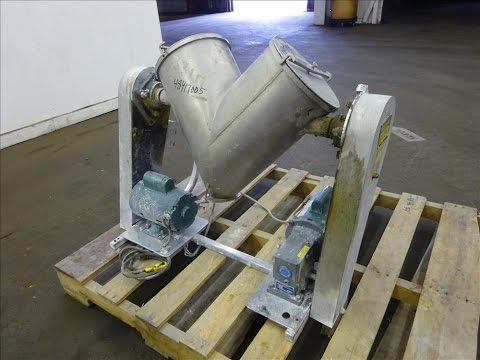 Used- Patterson-Kelley Twin Shell Blender - stock # 48417005