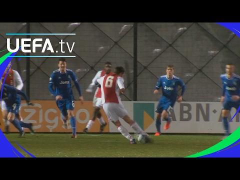 UEFA Youth League highlights -  Ajax v Juventus - Stunning long-range goal