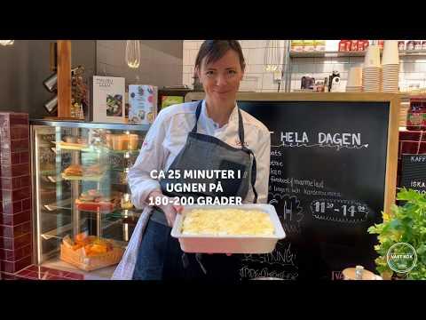 Inspireras med Vårt Kök: Snabb vegetarisk lasagne med vegofärs från Anamma