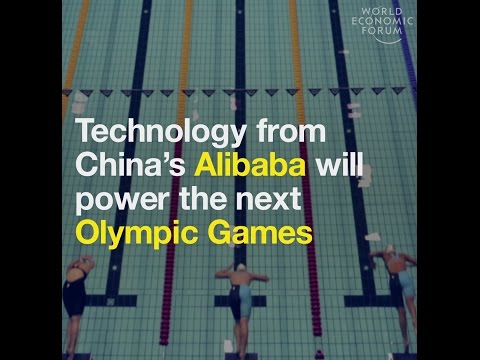 Technology from China's Alibaba will power the new Olympic Games