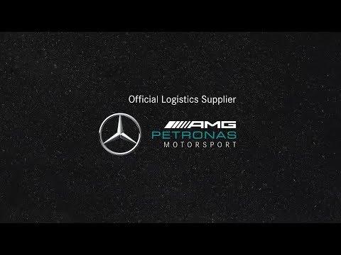 DB Schenker – Official Logistics Supplier Mercedes-AMG Petronas Motorsport