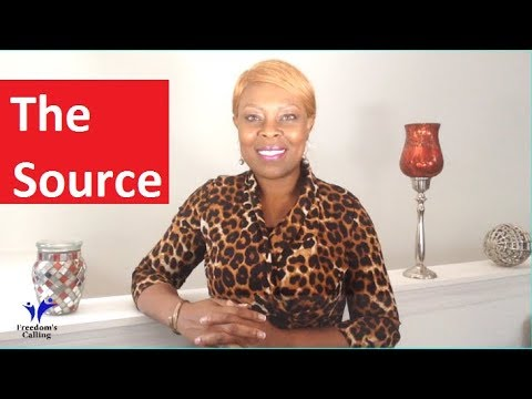 WEDNESDAY WORD - The Source...
