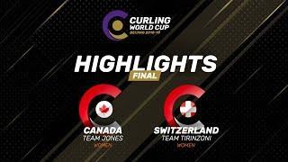 HIGHLIGHTS: Women's Final -  Curling World Cup Grand Final - Beijing, China