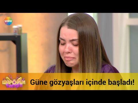 Almila güne gözyaşları içinde başladı!