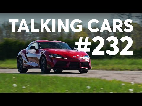 2020 Toyota Supra Test Results; Confusing Names for Safety Features | Talking Cars #232 - UCOClvgLYa7g75eIaTdwj_vg