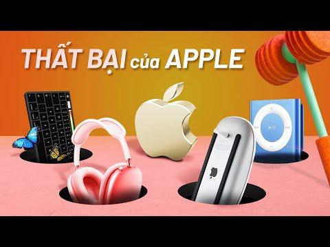 4 sản phẩm thất bại mà Apple không muốn bạn nhớ tới
